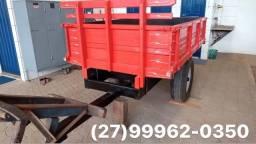 Carreta agrícola 2 toneladas