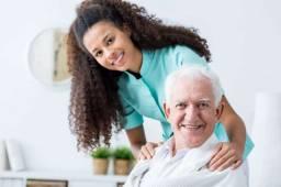 Ofereço meus serviços de cuidador de idosos ou acamados