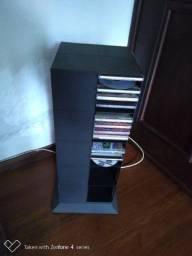 Porta Cds Dvd giratorio