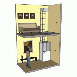 Elevadores Residencias, monta cargas e de acessibilidade
