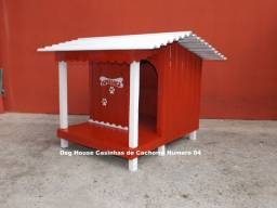 Casinha luxuosas com varanda tamanho 04  a partir de R$ 359,00