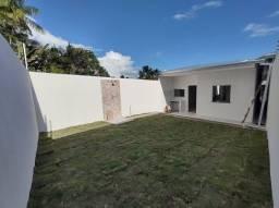 Casa nova 3 quartos com suíte, quintal, fino acabamento