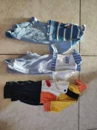 Vendo lote de roupa bebê RN e P
