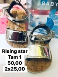 Sandália Rising Star para menina