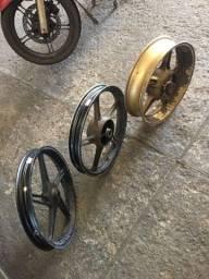 Reforma Roda de Moto - (62) 9  *