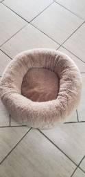 Cama peluciada para gatos
