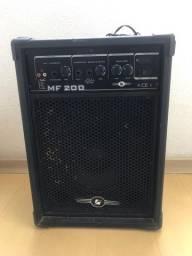 Caixa Amplificada 200Watts / Bivolt / Conecta até Celular