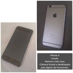 Título do anúncio: Iphone 6 16gb