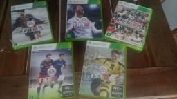 Jogos Fifa e PES Xbox 360