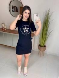 Vestido ou T-shirt alongada