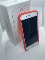 iPhone 6s 128gb dourado bateria nova zero