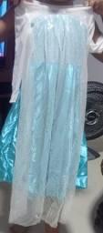 Vestido de Festa da Frozen
