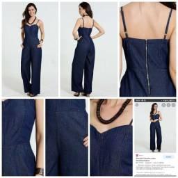 Macacão jeans Pantlona