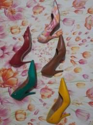 Sapatos salto alto n37