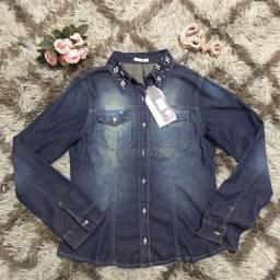 Casaco jeans maravilhoso, NOVO M / P