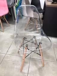 Cadeira eames acrílico cristal
