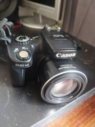 Oportunidade Canon sx 50 HS  valor negociável