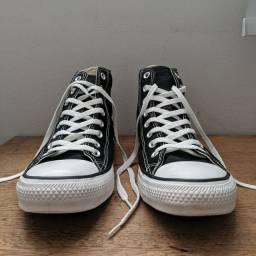 All star preto/branco ORIGINAL nº 40