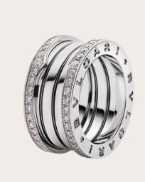 Alianças personalizadas - Moeda antiga - ouro - prata