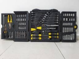 Jogo de ferramentas Stanley com 143 peças completo