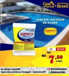 Tablete/Pastilha de cloro