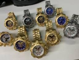 Relógios Invicta Coringa várias cores.