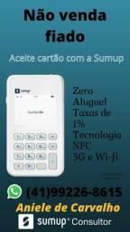 Máquinas de Cartão com NFC Sumup (em estoque)