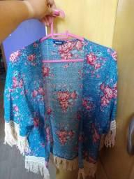 Kimono floral TAM ÚNICO