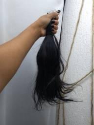 Cabelo natural mega hair megado