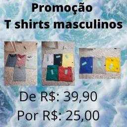 T shirts Masculinas