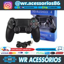 Título do anúncio: Controle Sem Fio PS4 - Entrega Grátis