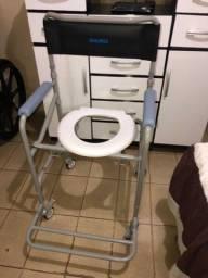 Cadeira de banho nova com nota e garantia