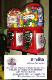 2F FunBalls => Vending Machines PARA -> SUA -> LOJA ou P.O.N.T.O -> C.O.M.E.R.C.I.A.L!