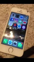 IPhone 5s 16gb tela trincada funcionando!!!!