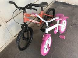 Bicicleta infantil aro 16 aro 12 usada What 991767797