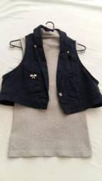Regata + Jaqueta jeans