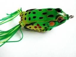 Isca Artificial Sapo Super Frog Anzol Anti Enrosco