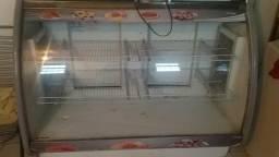 Balcão refrigerador 220v 1,30 altura por 2m largura