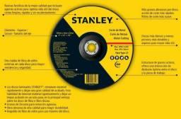 Disco Abrasivo de Desbaste para Metal 7 Pol. - Stanley - STA0414