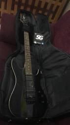 Vendo ou troco guitarra Cort kx5 FR