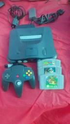 Nintendo 64 cm 3 fitas completo