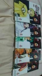 Hikaru no Go 5 volumes só 30$ corre logo !!