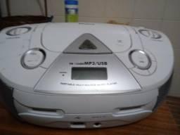 Micro Sistem Philco De USB Cartão CD AM FM