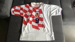 Raridade  Camisa Da Seleção Da Croácia Copa 1998  9 Suker 7c2284335e0fe