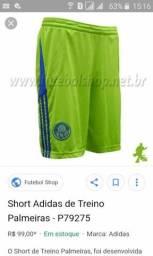 Short Adidas palmeiras treino original 9a8f8ed810e66