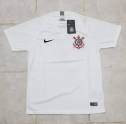 Camisa Home Corinthians 2018 2019 870ae0d34695a
