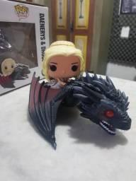 Funko Pop Daenerys Targaryen e Dragão