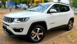 Aceita Troca Jeep Compass Sport 2.0 Flex Único Dono Baixo Km - 2017