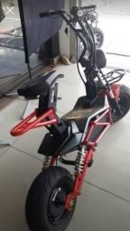 Scooter Elétrica Street 1600w bateria móvel em até 12 x - 2019