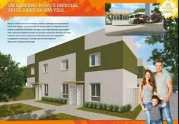 Residencial Veredas Casas 2 Dormitórios 2 Banheiros e Quintal 15 m²
